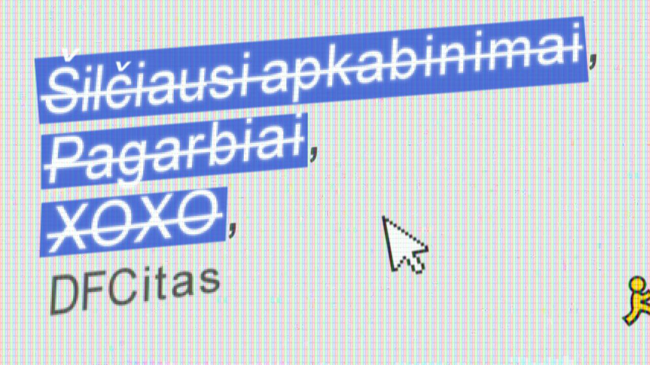 E-mailo etiketo ypatumai