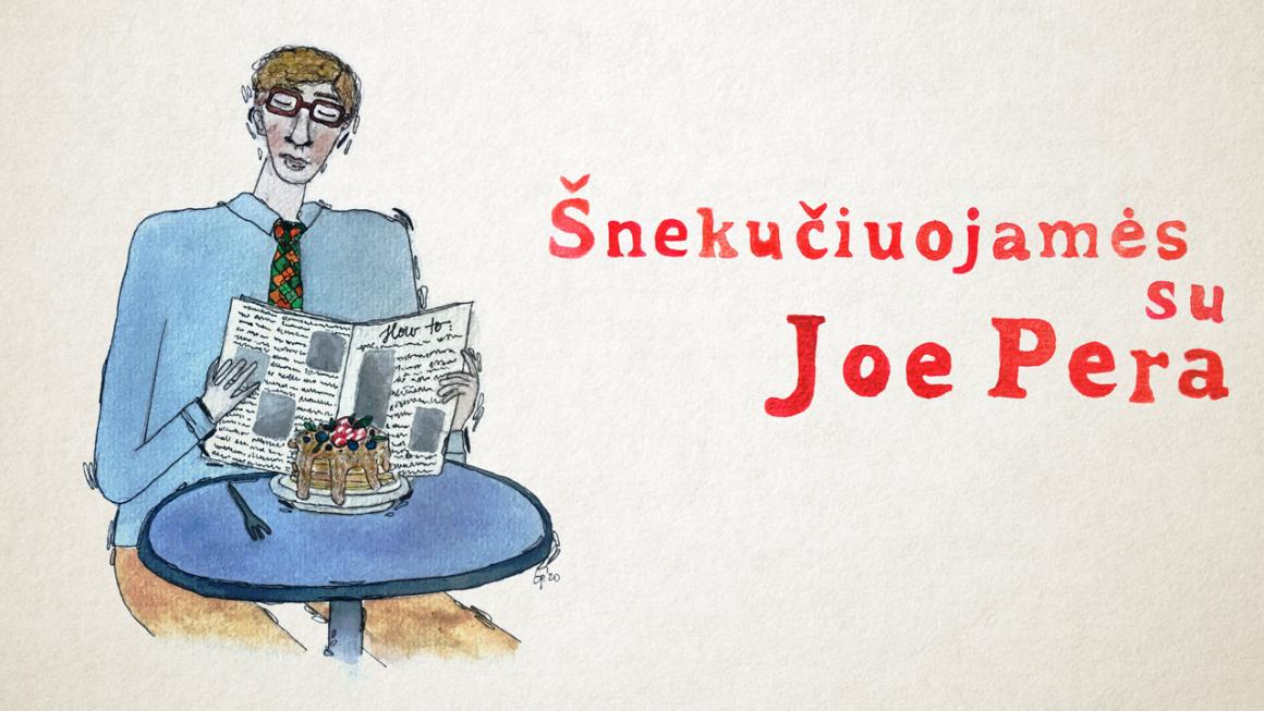 Šnekučiuojamės: Adult Swim komediantas Joe Pera